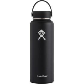 Hydro Flask Wide Mouth Flex Bottle 1180ml Black